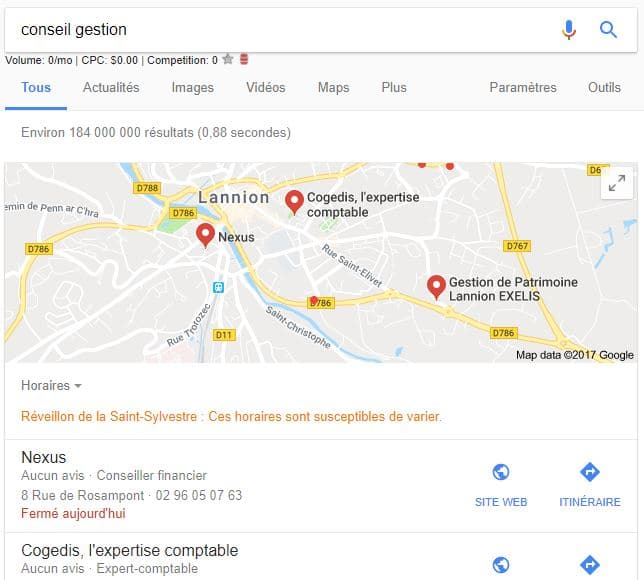 Pack 3 Google Local Nexus Lannion
