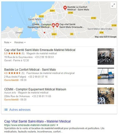 optimisation google my business