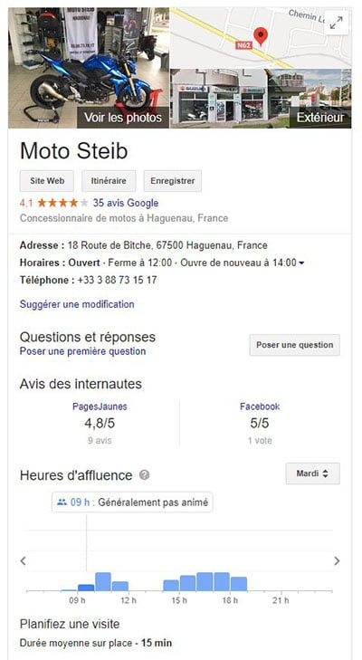 google my business gratuit ou payant ?