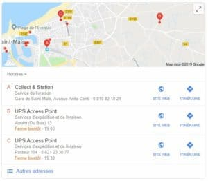 Optimisation d'une fiche Google My Business